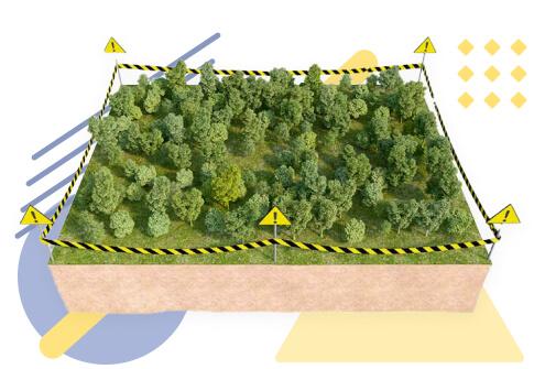 Вынос внатуру границ земельного участка